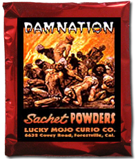 Lucky Mojo Curio Co.: Damnation Sachet Powder