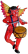 Ornament-Plaster-Hand-Painted-Red-Devil-Playing-Musical-Instrument-Assorted-at-Lucky-Mojo-Curio-Company