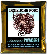 Lucky Mojo Curio Co.: Dixie John Incense Powder