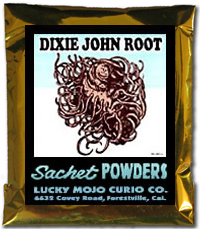 Lucky Mojo Curio Co.: Dixie John Sachet Powder