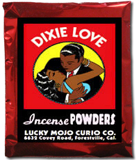 Lucky Mojo Curio Co.: Dixie Love Incense Powder