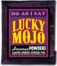 Lucky Mojo Curio Co.: Do As I Say Incense Powder