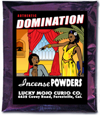 Lucky Mojo Curio Co.: Domination Incense Powder