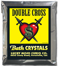 Lucky Mojo Curio Co.: Double Cross Bath Crystals