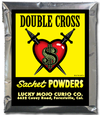 Lucky Mojo Curio Co.: Double Cross Sachet Powder