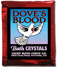 Lucky Mojo Curio Co.: Dove's Blood Bath Crystals