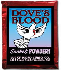 Lucky Mojo Curio Co.: Dove's Blood Sachet Powder