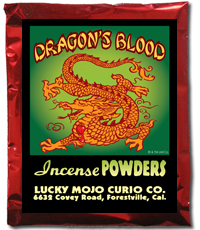 Lucky Mojo Curio Co.: Dragon's Blood Incense Powder