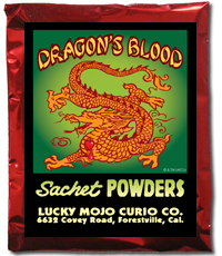 Lucky Mojo Curio Co.: Dragon's Blood Sachet Powder