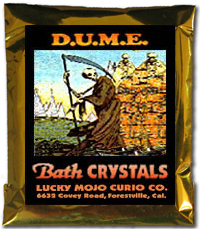 Lucky Mojo Curio Co.: D.U.M.E. Bath Crystals