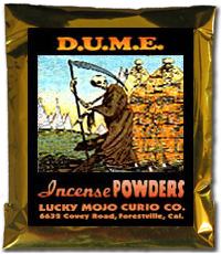 Lucky Mojo Curio Co.: D.U.M.E. Incense Powder