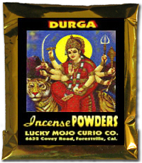 Lucky Mojo Curio Co.: Durga Incense Powders