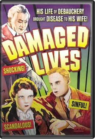 "Damaged Lives (Plus Bonus ""VD"" Short Film) Boxart"
