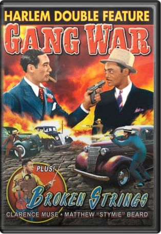 Harlem Double Feature: Gang War (1940) / Broken Strings (1940) Boxart