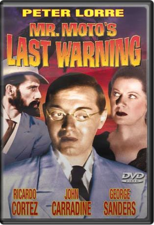 Mr. Moto's Last Warning Boxart