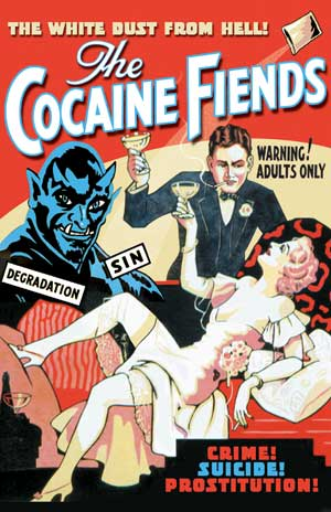 "The Cocaine Fiends - Large Poster (18"" x 24) Boxart"