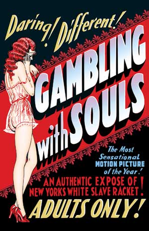 "Gambling With Souls - Small Poster (11"" x 17"") Boxart"