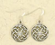 Earrings-Celtic-Knot-Silver-at-Lucky-Mojo-Curio-Company