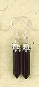 Earrings-Crystal-Point-Black-Onyx-Silver-at-Lucky-Mojo-Curio-Company
