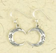 Earrings-Moon-Engraved-Pentacle-Star-Silver-at-Lucky-Mojo-Curio-Company