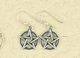 Earrings-Pentacle-in-Double-Circle-Silver-at-Lucky-Mojo-Curio-Company