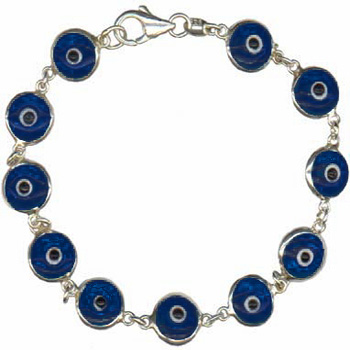 Navy-Blue-Anti-Evil-Eye-Bracelet-Sterling-and-Glass-at-the-Lucky-Mojo-Curio-Company