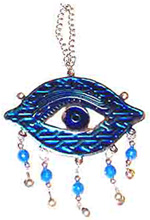 Blue-Stamped-Metal-All-Seeing-Eye-Wall-Hanger-with-Small-Hanging-Beads-at-the-Lucky-Mojo-Curio-Company