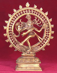 Two-and-a-half-inch-Shiny-Brass-Siva-at-Lucky-Mojo-Curio-Company