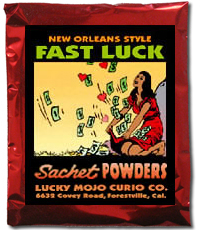 Lucky Mojo Curio Co.: Fast Luck Sachet Powder