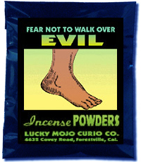 Lucky Mojo Curio Co.: Fear Not To Walk Over Evil Incense Powder
