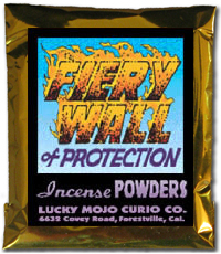 Lucky Mojo Curio Co.: Fiery Wall Of Protection Incense Powder