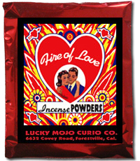 Lucky Mojo Curio Co.: Fire of Love Incense Powder