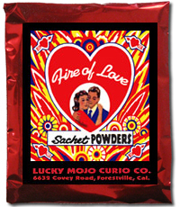 Lucky Mojo Curio Co.: Fire of Love Sachet Powder