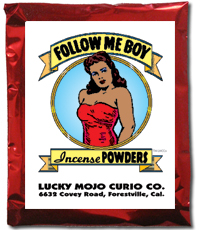 Lucky Mojo Curio Co.: Follow Me Boy Incense Powder
