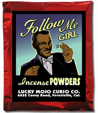 Lucky Mojo Curio Co.: Follow Me Girl Incense Powder