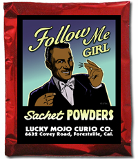 Lucky Mojo Curio Co.: Follow Me Girl Sachet Powder