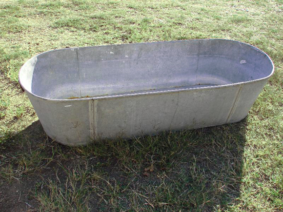 Metal Trough Bathtub : Galvanized Water Trough Bathtub Galvanized-bathtub.jpg