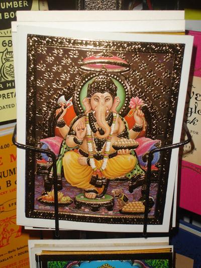 Ganesh-Gilded-Postcard-at-the-Lucky-Mojo-Curio-Company