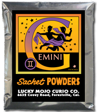 Lucky Mojo Curio Co.: Gemini Sachet Powder