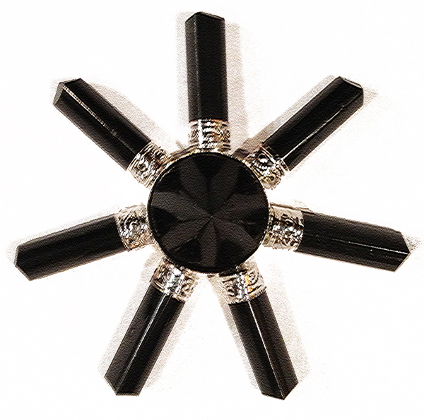 Black-Tourmaline-Seven-Points-Array-at-Lucky-Mojo-Curio-Company