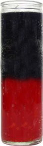 glass-candle-plain-black-red