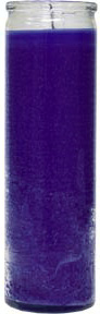 glass-candle-plain-purple