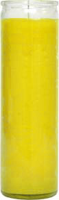 glass-candle-plain-yellow