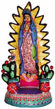 Guadalupe-Candle-Stand-Large-Painted-Clay-Mexico-at-Lucky-Mojo-Curio-Company
