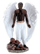 Seven-Inch-Guardian-Angel-with-Sleeping-Child-Statue-at-Lucky-Mojo-Curio-Company