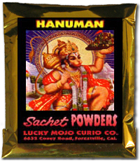 Lucky Mojo Curio Co.: Hanuman Sachet Powders