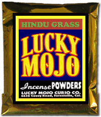Lucky Mojo Curio Co.: Hindu Grass Incense Powder
