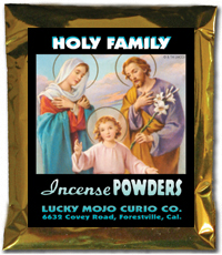 Lucky Mojo Curio Co.: Holy Family (Sagrada Familia) Incense Powders