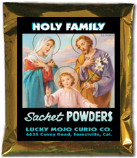 Lucky Mojo Curio Co.: Holy Family (Sagrada Familia) Sachet Powders