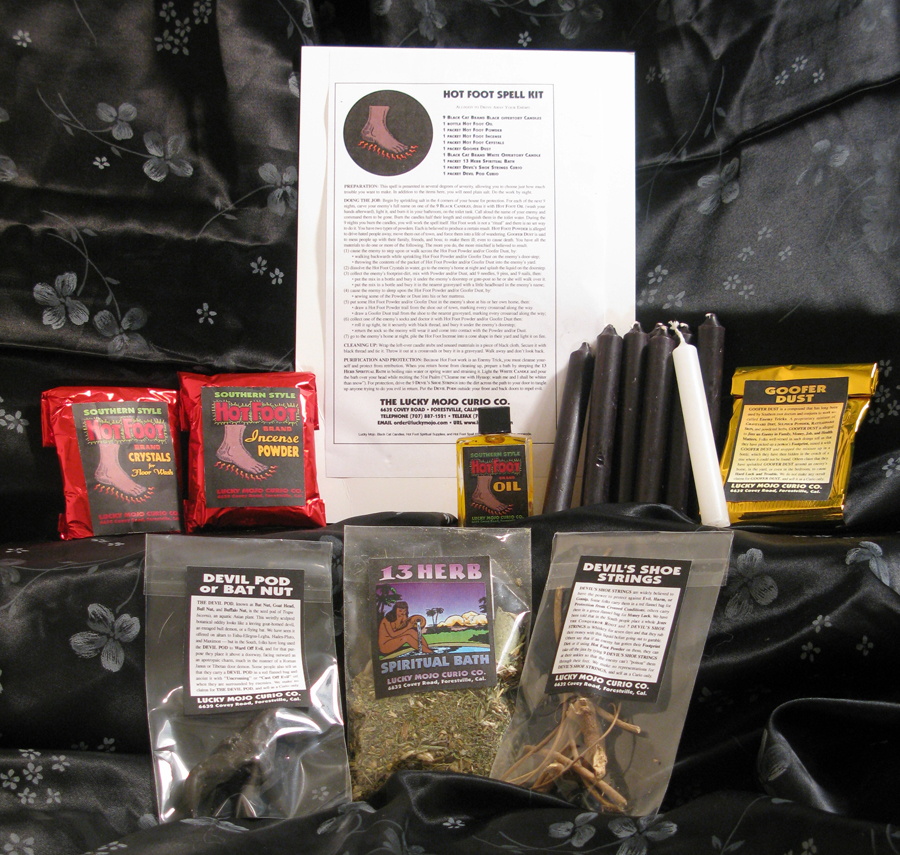 Link-to-Order-Hot-Foot-Magic-Ritual-Hoodoo-Rootwork-Conjure-Spell-Kit-From-the-Lucky-Mojo-Curio-Company